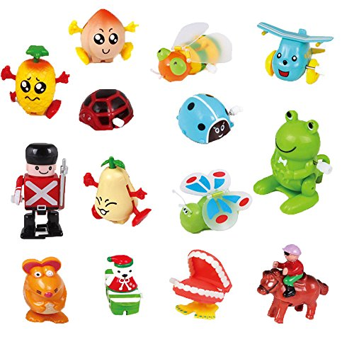 Ymiss 14pcs Wind Up Assorted Toys for Kids Gift and Adults Played in Office Table by Ymiss (Image #1)