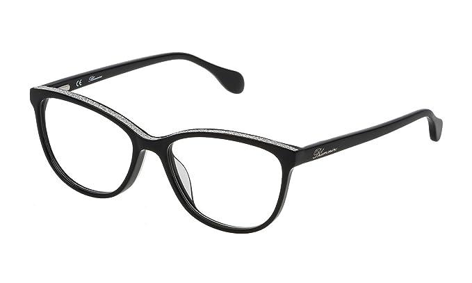 d7a414bbf4c41 Blumarine - Monture de lunettes - Femme Noir Noir  Amazon.fr ...