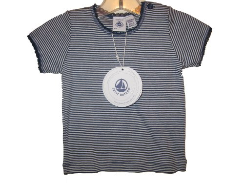 Petit Bateau T-shirt Striped Navy/white Sizes 12/m-8 Years(8, NAVY AND WHITE ()