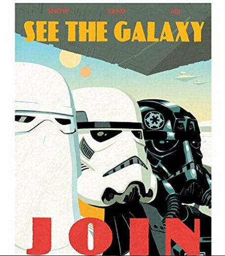 Da Bang New Star Wars Join Retro Classic Vintage Movie Poster and print for wall 50x75cm KO/367336
