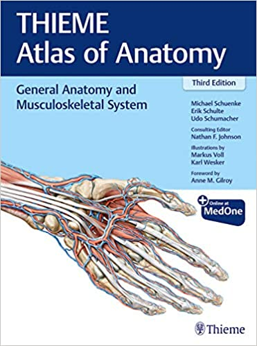 General Anatomy and Musculoskeletal System (THIEME Atlas of Anatomy), 3rd Edition - Original PDF