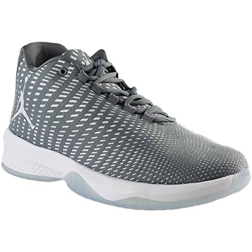 Jordan Men's B. Fly Cool Grey/White/Wolf Grey Basketball Shoe 11 Men US by Jordan