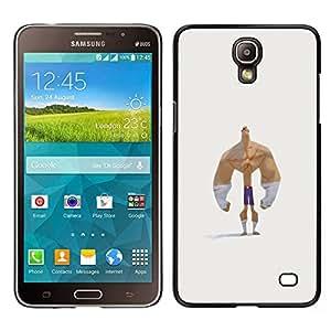 LECELL--Funda protectora / Cubierta / Piel For Samsung Galaxy Mega 2 -- antebrazos culturista hombre divertido fuerte --