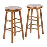 Set of Two 25″ Swivel Bar Stool Review
