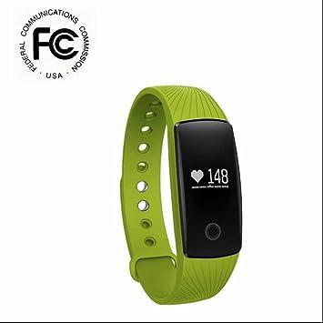 Remote Control Smart Watch sesshaft Recordar – Pulsera Muñequeras podómetro OLED pantalla de calorías Medición Quemado