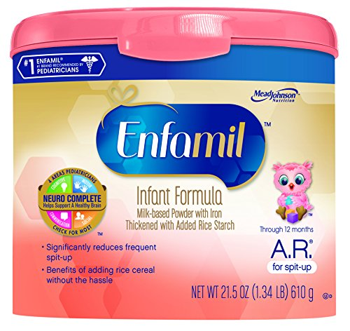 Enfamil  A.R. Baby Formula - 21.5 oz Powder in Reusable Tub