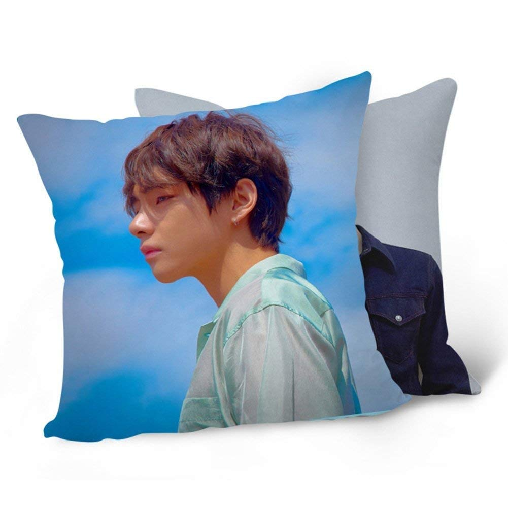 4PCS Bosunshine BTS Bangtan Boys Love Yourself 承 HER Tear  Pillowcase Pillow Cover for Fans