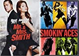 This Movie Will Blow You Away 2-Movie Collection: Mr. & Mrs. Smith & Smokin' Aces Bundle