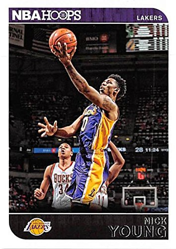 Nick Young basketball card (Los Angeles Lakers Swaggy P) 2014 NBA Hoops #187