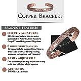 Copper Magnetic Bracelet Women Arthritis