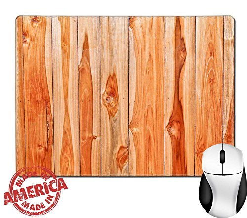 "Luxlady Natural Rubber Mouse Pad/Mat with Stitched Edges 9.8"" x 7.9"" IMAGE ID: 24863310 teak wood texture teak plank wall - Teakwood Panel"