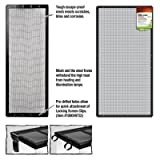 ENERGY SAVERS UNLIMITED,INC. - SCREEN COVER METAL BLK 36X18