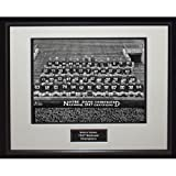 NCAA Notre Dame Fighting Irish 1947 National Championship Team Portrait Framed Igned 16x20 Photo