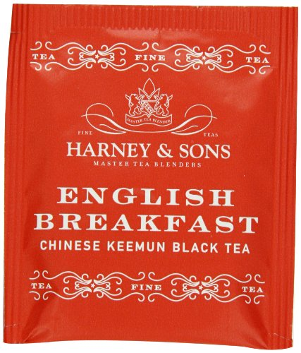 Sons English Breakfast Tea - Harney & Sons English Breakfast Tea 100g / 3.57 oz  (50 Tea Bags)