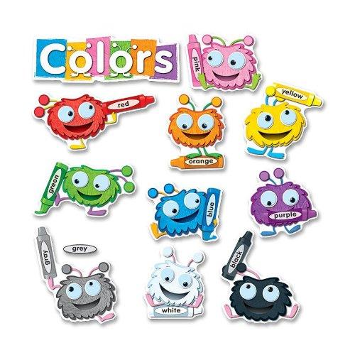 Board Bulletin Set Shapes (Carson Dellosa Color Critters Bulletin Board Set (110173))