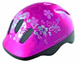 Ventura Children's Cycling Helmet, 48-52 cm, Flower (Pink)