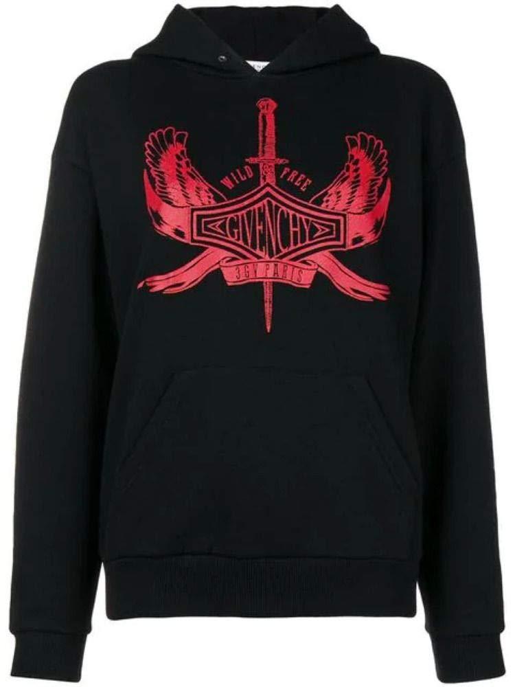 Givenchy Women's BW706A3Z1F001 Black Cotton Sweatshirt