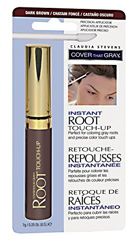 Claudia Stevens Dark Brown Instant Root Touch Up Dark Brown