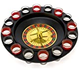 Shot Glass Roulette - Drinking Game Set (2 Balls and 16 Glasses) (Kitchen)