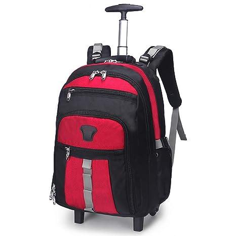 6bb59dd45f96 Amazon.com : IF.HLMF Trolley Backpack, Shoulder Trolley Bag Large ...