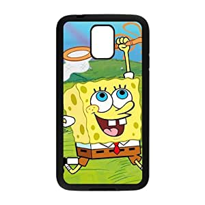 Lovely SpongeBob Cell Phone Case for Samsung Galaxy S5