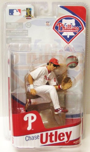 McFarlane MLB 2010 team assortment [Chase Utley (Phillies / White) / Chase - Phillies Utley Chase