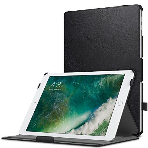 MoKo Case for iPad 9.7 2018/2017 - Genuine Leather Slim-Fit