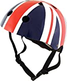 union jack helmet - Kiddimoto Union Jack Helmet, Medium (53-58 cm)