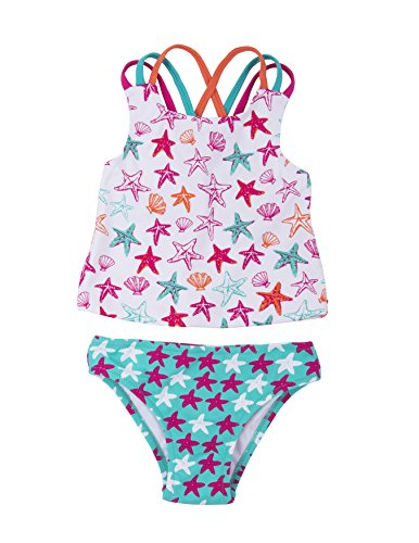 Sporty Tankini Set, Star Fish, 6 (Hatley Stars)