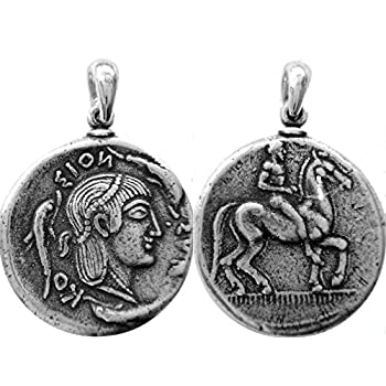 Twin Sister of Apollo Artemis Pendant and Chain 8-G Goddess of the Hunt