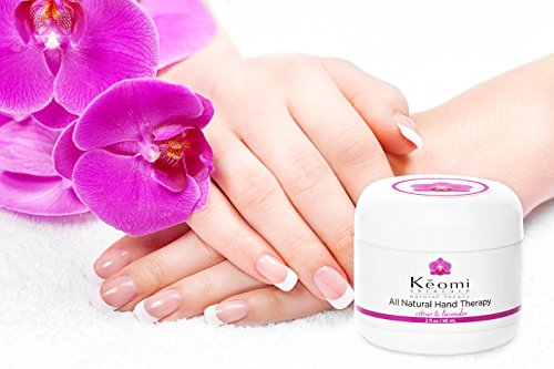 TOP RATED Organic & All Natural Hand Cream - THE BEST & HEALTHIEST Hand Cream for Your Skin! Advanced Healing & Moisturizing, Relief for Dry Skin, Eczema & Problem Hands (4 oz - Economy Size)