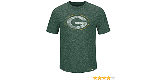 /Green Bay Packers Vert Majestic Greatness T-shirt/