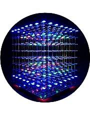 iCubeSmart LED-lampa Cube Kit 3D LED Cube 8 x 8 x 8 med gör-det-själv-kit elektronisk kit för skolpedagogiskt laboratorium