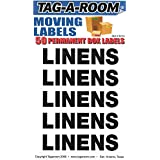 Tag-A-Room Box Content Moving Label (Linens)