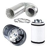 4 inch inline fan kit - Hydro Crunch 4 inch 100 CFM Booster Fan & 4