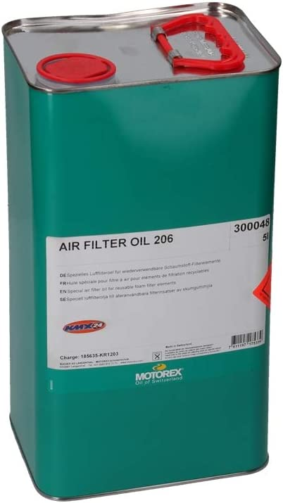 Motorex Air Filter Oil 206 - Aceite para Filtro de Aire (5 L ...