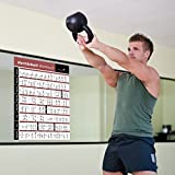 Kettlebell-Workout-Exercise-Poster-Laminated-Home-Gym-Weight-Lifting-Routine-HIIT-Workout-Build-Muscle-Lose-Fat-Fitness-Guide