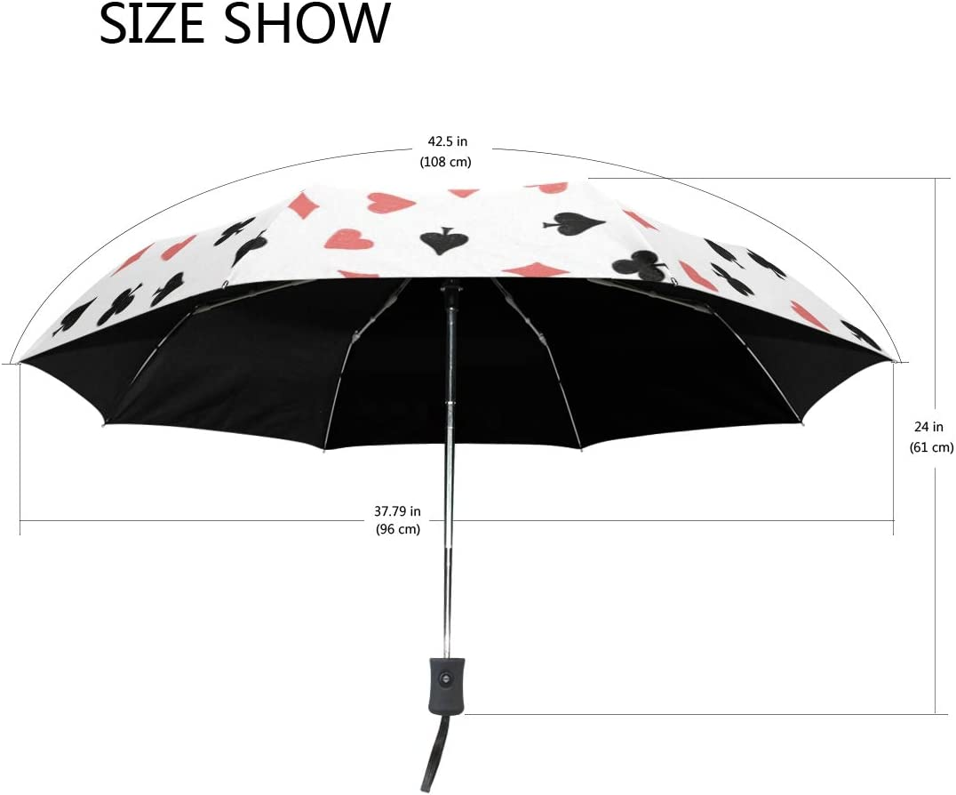 Jacksome printable beach quotes Windproof Travel Umbrella-Compact Folding Lightweight Portable Parasol Umbrella for Women,Gift Choice