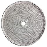 Dayton Buffing Wheel, Spiral Sewn, 10 In Dia. - 5A726 (Pack of 2)