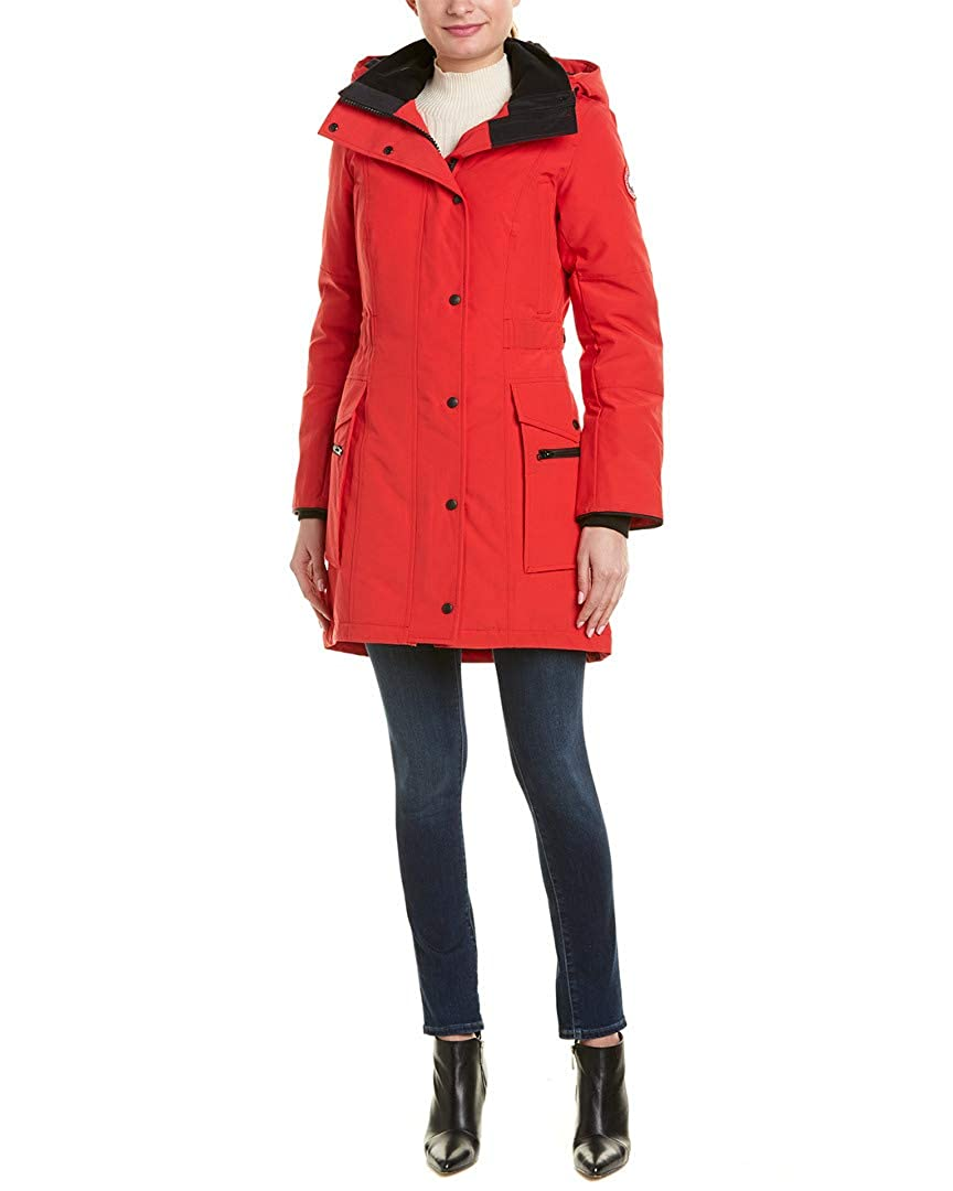 bf56c38f2 Canada Goose Womens Kinley Down Parka, S Red at Amazon Women's Coats ...