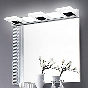Comeonlight 9W Bathroom Vanity Light, 360 Degree Rotation Modern Make Up  Mirror Light, Fashion
