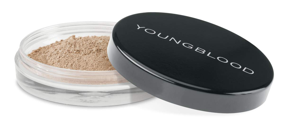 YOUNGBLOOD Natural Loose Mineral Foundation - 0.35 Oz, Color Honey