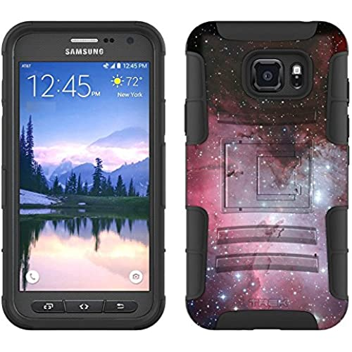 Samsung Galaxy S7 Active Armor Hybrid Case Eagle Nebula 2 Piece Case with Holster for Samsung Galaxy S7 Active Sales