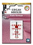 organ twin needle - Organ Needles 4964832920805 Twin Stretch Needles #75/4.0 Twin Stretch X 1 Needle