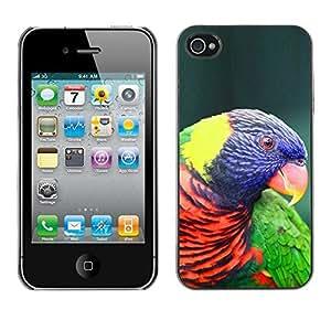 Design Hard ShellOrnithology Purple Bird For HTC One M9 Case Cover