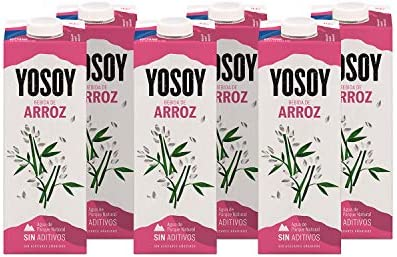 Yosoy - Bebida Vegetal de Arroz - Caja de 6 x 1L: Amazon.es ...