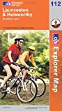 Front cover for the book Explorer Map 112: Launceston and Holsworthy by Ordnance Survey