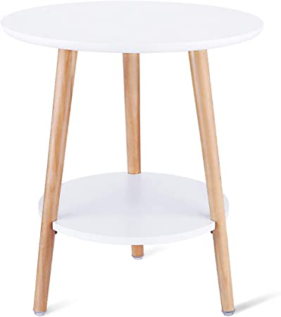 Table Dappoint Ronde Blanche