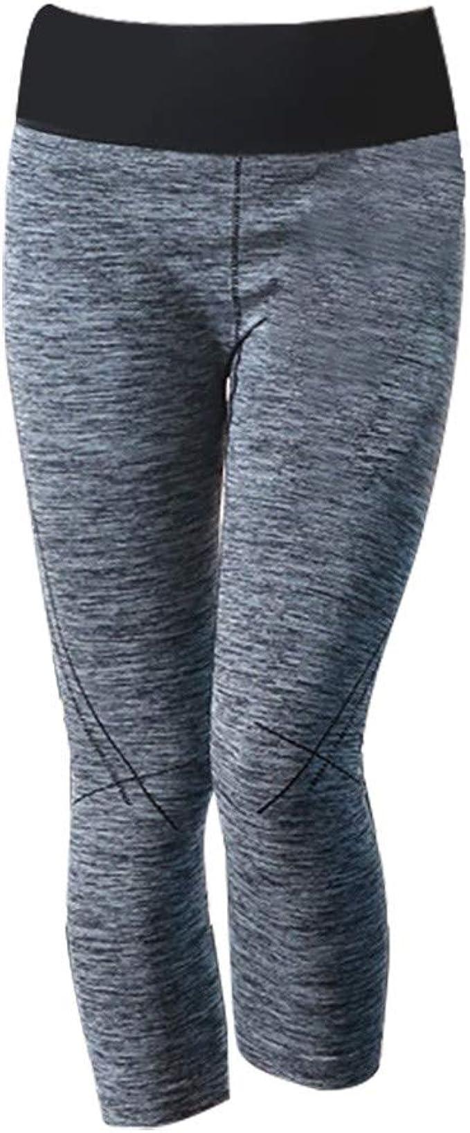 Pantalones de Ajustados A La Rodilla Mujeres Rodilleras para Mujer ...