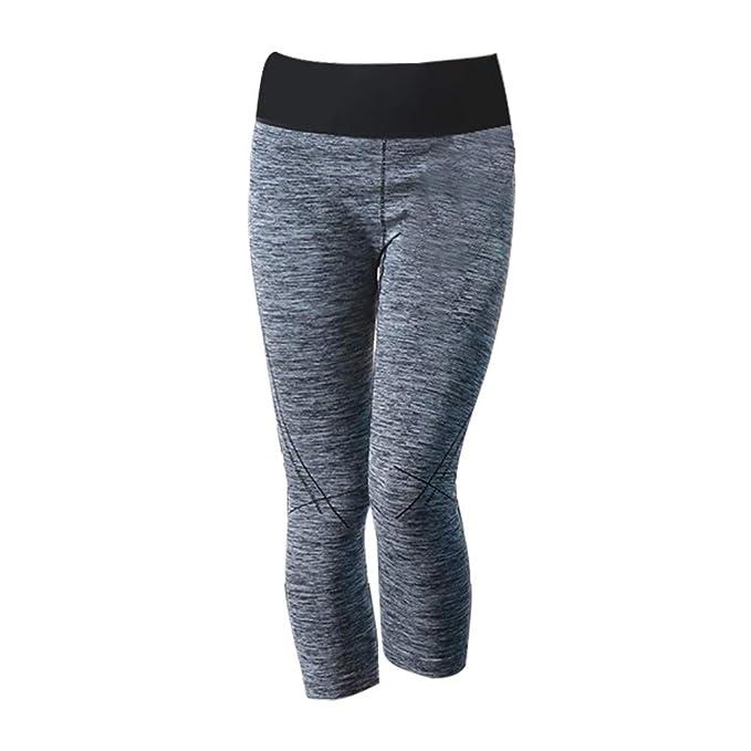 Pantalones de Ajustados A La Rodilla Mujeres Rodilleras para ...